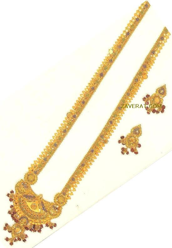 Gold Necklace - Indian Gold Jewellery